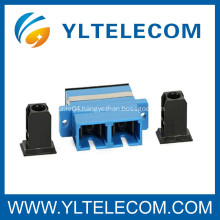 Singlemode SC to SC Fiber Optic Adapter for Data communication Networks