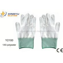 13G Полиэфирная перчатка безопасности (Y2100)