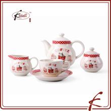 Italienische Keramik Geschirr Set