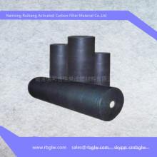 Uso médico Fieltro de fibra de carbono activo