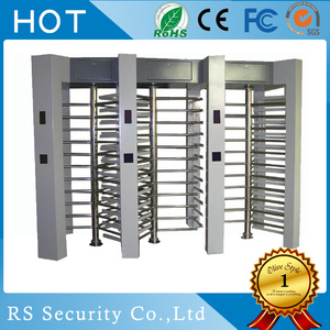 Barcode Coin Swallow Full Height Turnstile Gate
