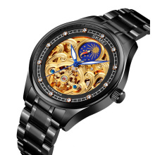 High quality automatic watch SKMEI M025 private label watch moon Phase relojes hombre