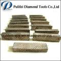 La fonction de lame de diamant de liaison métallique fait partie du segment de diamant