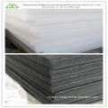 Flame retardant polyester hard felt for building sound insulation