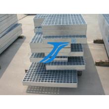Tipo 4 Rejas de acero galvanizado para escaleras Tread