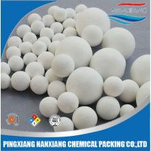 Boules de meulage roulées 99% 92% alumine en céramique broyeur à boulets