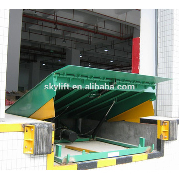 Hydraulic loading dock power tailgate lift