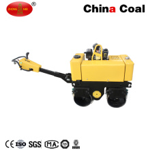 Hand Double Steel Wheel Drum Hydraulic Vibratory Road Roller Machine