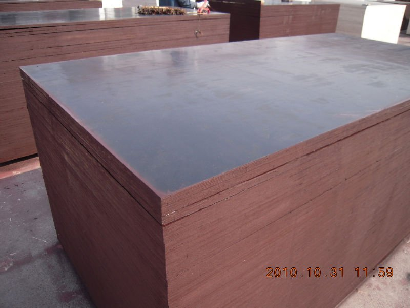 Brown Film Faced Plywood Board with Poplar Core