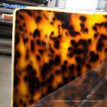 New design 3mm laser cutting leopard fancy pattern cast plexiglass acrylic sheet