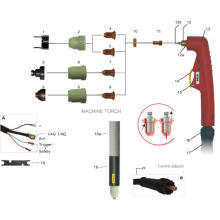 puntas de corte por plasma 400250h
