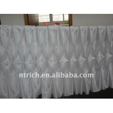 Fascinating!!! 2012 beautiful table cloth,table skirt,honeycomb style,fashion design