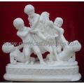 Geschnitzte Stein Statue Carving Marmor Skulptur Figur mit Granit Sandstein (SY-X1443)