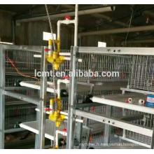Buveur automatique de mamelon d'eau de poulet de couche de volaille pour la cage de batterie