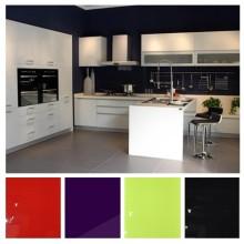 Glossy Lacquer L Shaper Kitchen Cabinets (zhuv)