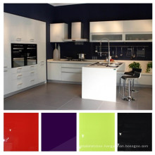High Glossy UV Kitchen Cabinet Sets, Modular Kitchen Cabinet