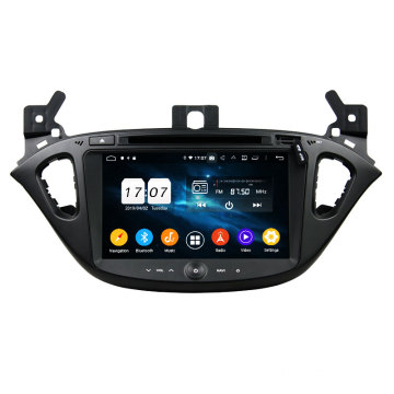 Fashion trend android 9.0 car dvd สำหรับ corsa
