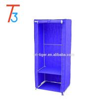 1 porte tissu organisateur de stockage vêtements portatif armoire penderie en tissu