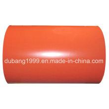 PPGI com cor laranja de fabricação direta