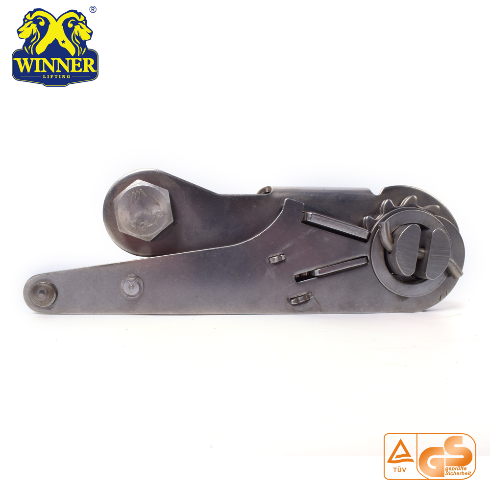 Heavy Duty Stainless Steel Ratchet Buckle For 10000KG