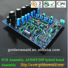 pcb board and assembly Relay rapid prototype pcba with Flammability class 94V-0