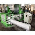 Prensa enfardadeira de fio de cobre para sucata hidráulica para reciclagem