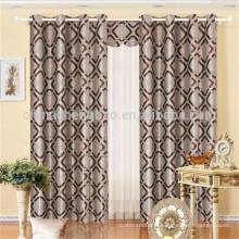 Ensemble de rideaux de chambre classique de luxe Hotsale design