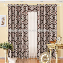 Hotsale design classic luxury bedroom curtain set
