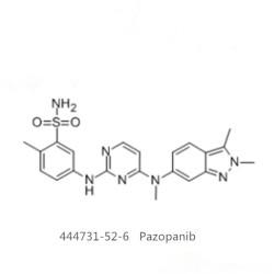 99% GW786034  CS-1857  Pazopanib base CAS  444731-52-6
