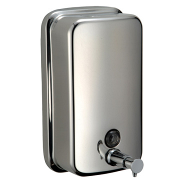 Stainless Steel Hand Touch Restroom Soap Dispenser
