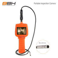 Drain cleaning and block leak testing cctv inspection camera