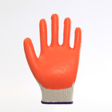 latex coated smooth finished working safety gloves