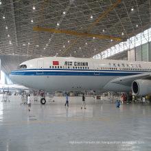 Vorgefertigte Stahl Flugzeug Hangar Warehouse