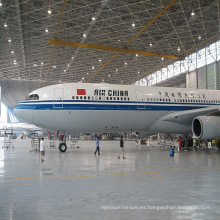Almacén de Hangar de Aviones de Acero Prefabricado
