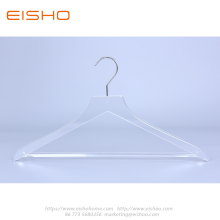 Transparent Acrylic Suits Hanger With Bar