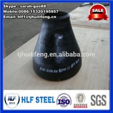 Réducteur de tuyau en acier au carbone de 4 pouces