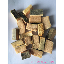 High Quality for Meat Jerky For Dog FD SALMON STRIP DOG DRY FOOD export to Tunisia Exporter