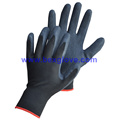 13 Gauge Nylon Liner, Latex Coating, Crinkle Finish Handschuh