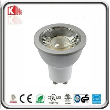 Carcasa blanca LED 120V 7W GU10 Foco LED