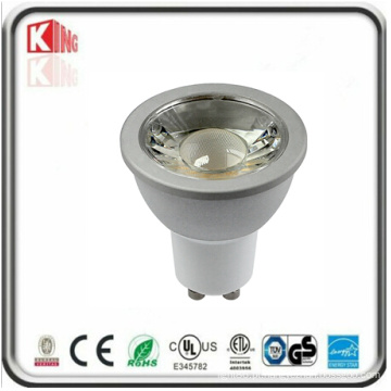 Habitação branca 120V 7W GU10 LED Spotlight