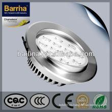 Hottst venta BSL012L 12W energía verde led luz de techo ajustable