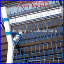 Power beschichtete Flughafen Draht Mesh Zaun BV Zertifizierung Hersteller
