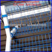 Power coated airport wire mesh fence BV certification manufacturer