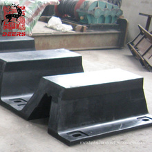Deers rubber super arch fender bumper for wharf/jetty/dock