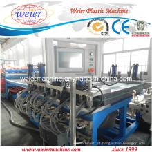 PVC WPC Madeira Plástico Móveis Película Crosta Linha de Produção Placa de Espuma