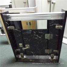 Panneaux en fibre de carbone en aluminium et en pierre pour portes et rangement de toilette