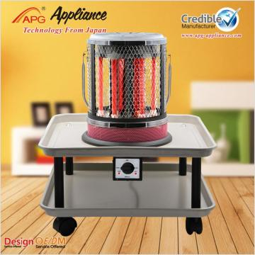 10 Years for Quartz Space Heater APG New Model Table Electric Heater supply to El Salvador Exporter