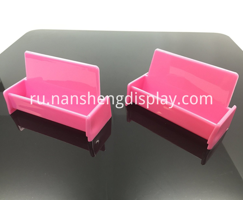 Pink Business Card Holder