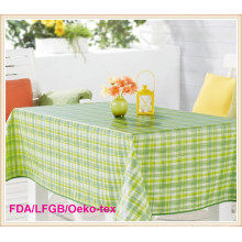 PVC Tablecloth with Flannel Backing (TJG0003)