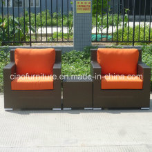 Hotel Furniture Single Sofa Set with Side Table